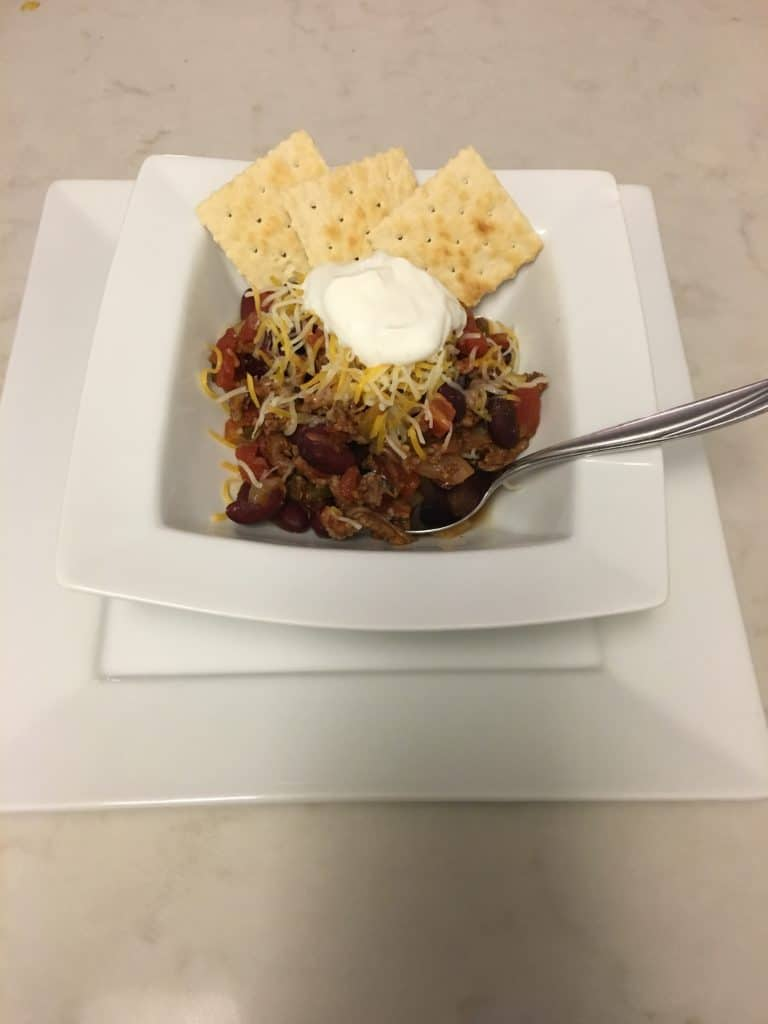 Yummy cheap chili