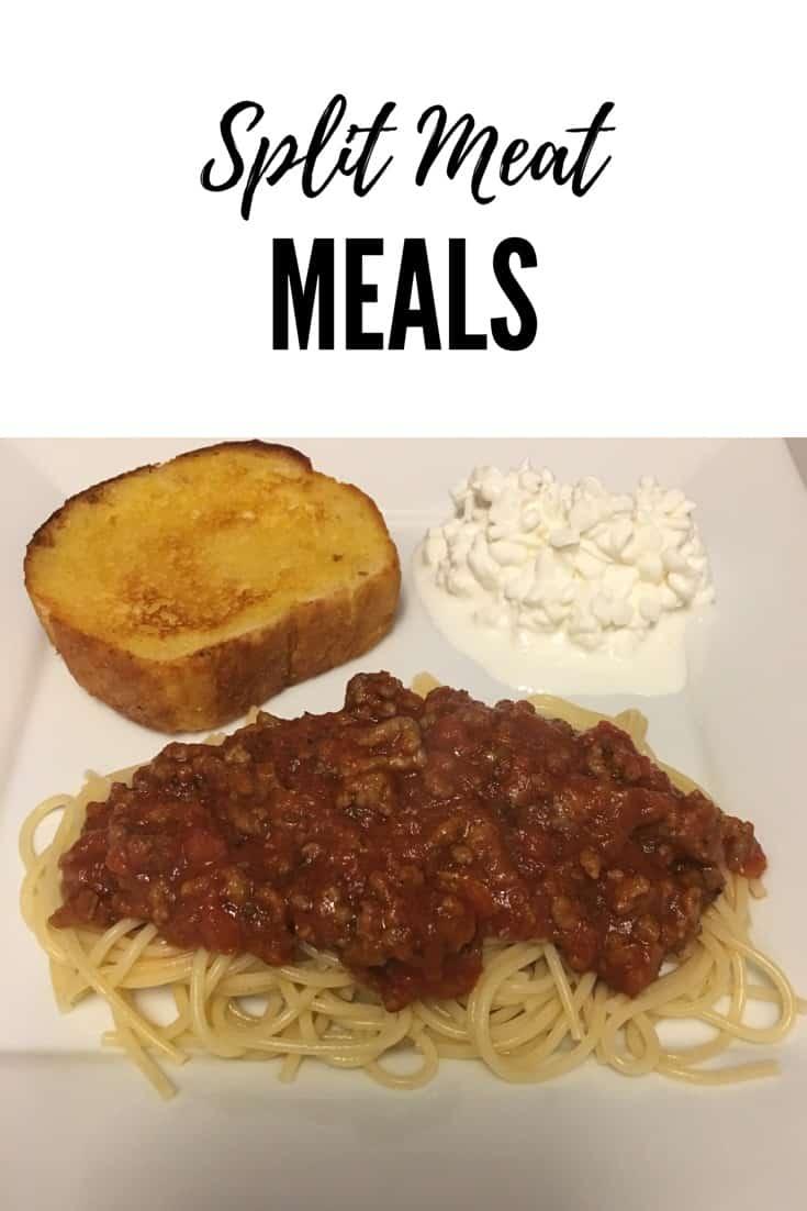 Split Meat Meals
