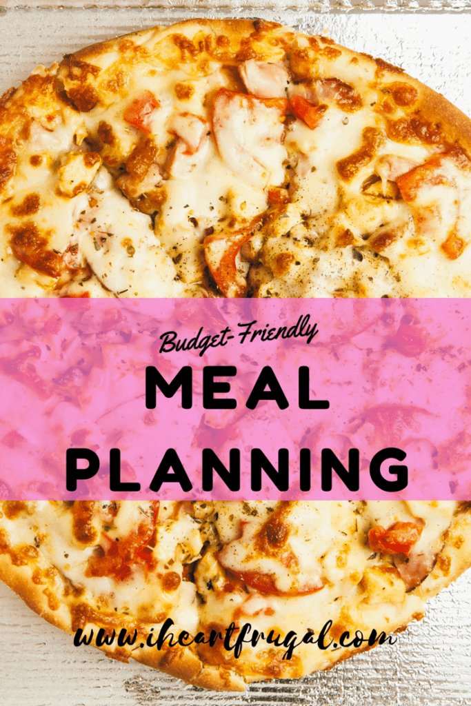 Looking for ways to save money? Meal Planning is a quick easy solution to keep your budget on track.
