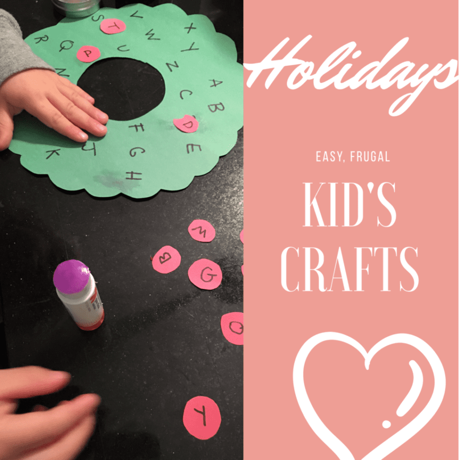Easy Holiday Kid's Crafts