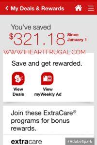How I saved over $320 at CVS!