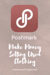 Poshmark-Make money selling used clothing