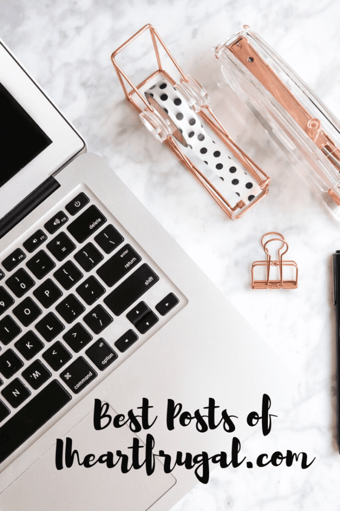Top 5 Post at Iheartfrugal.com