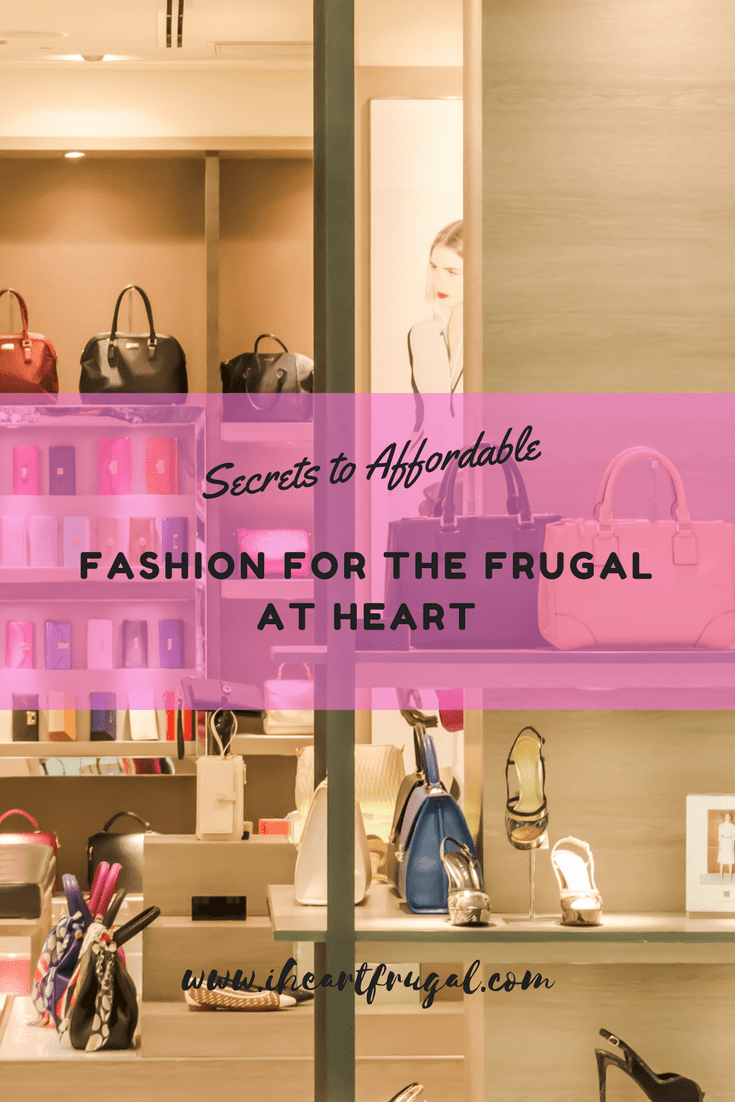 Affordable Fashion for the Frugal at Heart