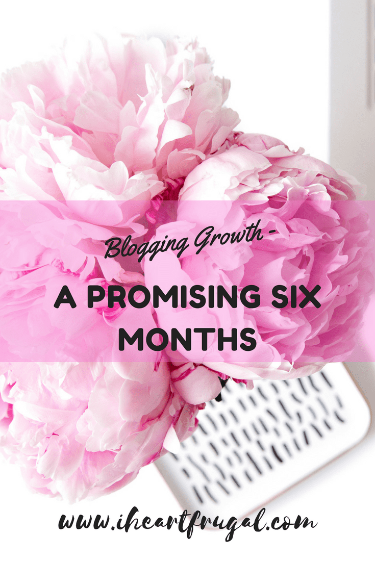 Blogging Growth – A Promising Six Months