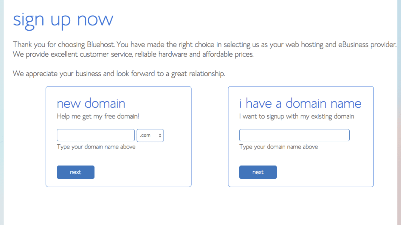 Check your domain name