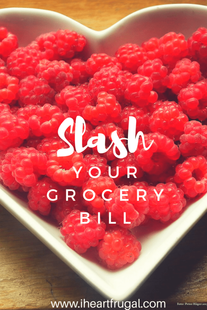 Slash your grocery bill and save