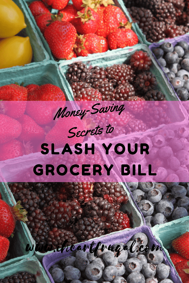 Learn how to cut your grocery bill with these seven easy steps.