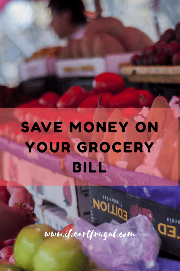 Grocery Savings Roundup
