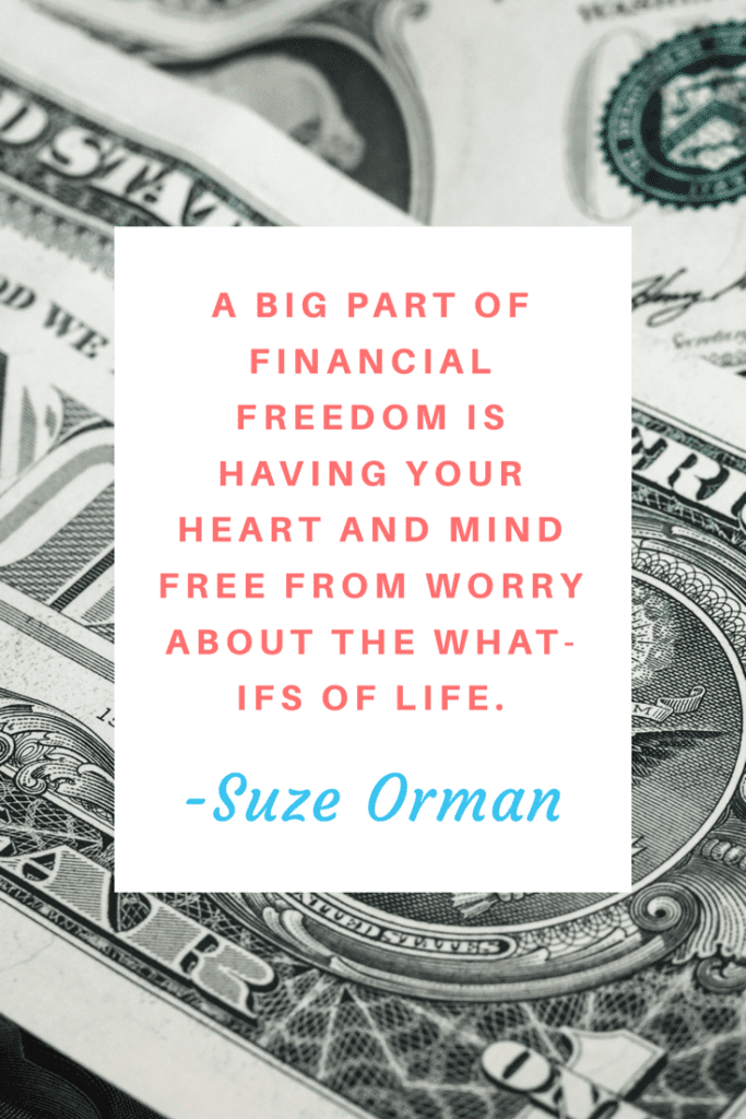 Suze Orman - Money quote