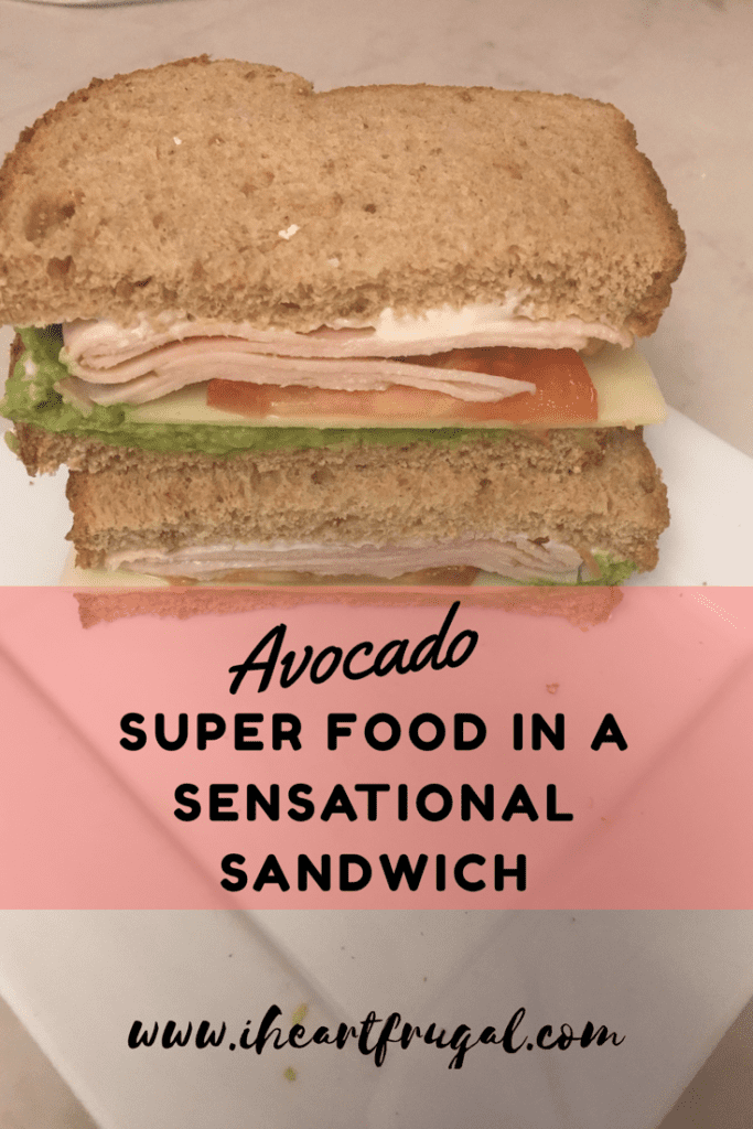 Avocado o: Super Food in a Sensational Sandwich