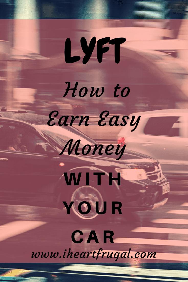 Lyft – Earn Money with Your Car