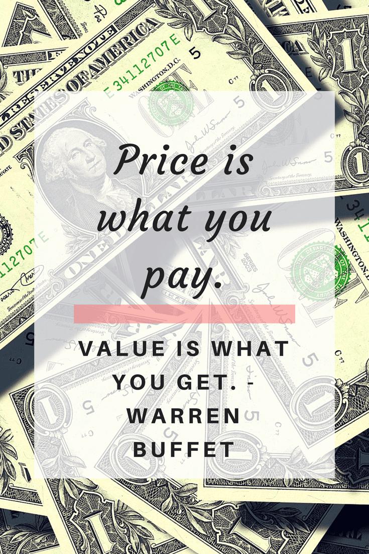 Warren Buffet – Money Quote