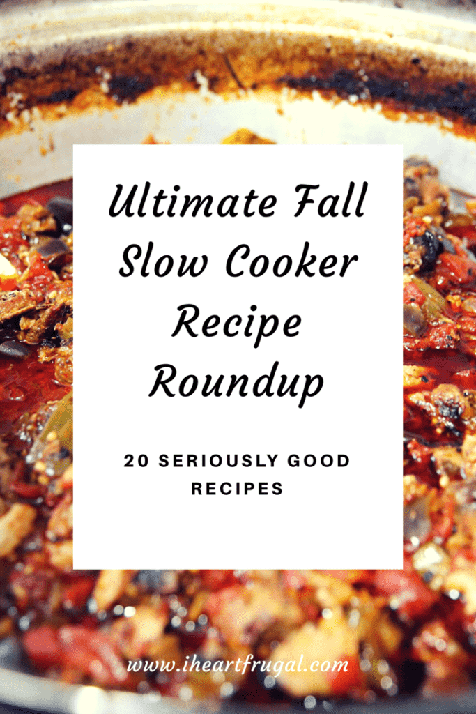 Fall Slow Cooker Roundup