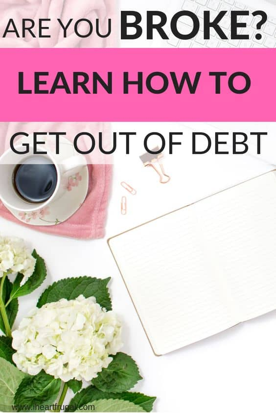 Do you need money help? Find out how to get ahead and stop living paycheck to paycheck. #personalfinance #savemoney