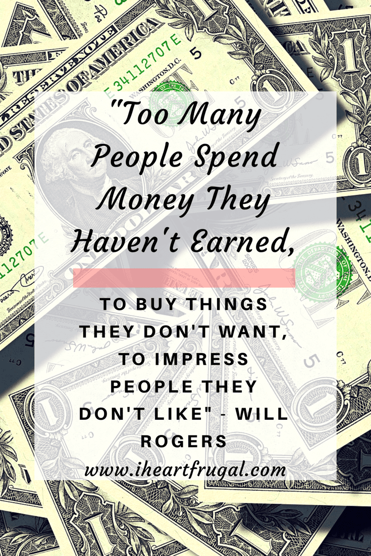 Will Rogers - Money Quote