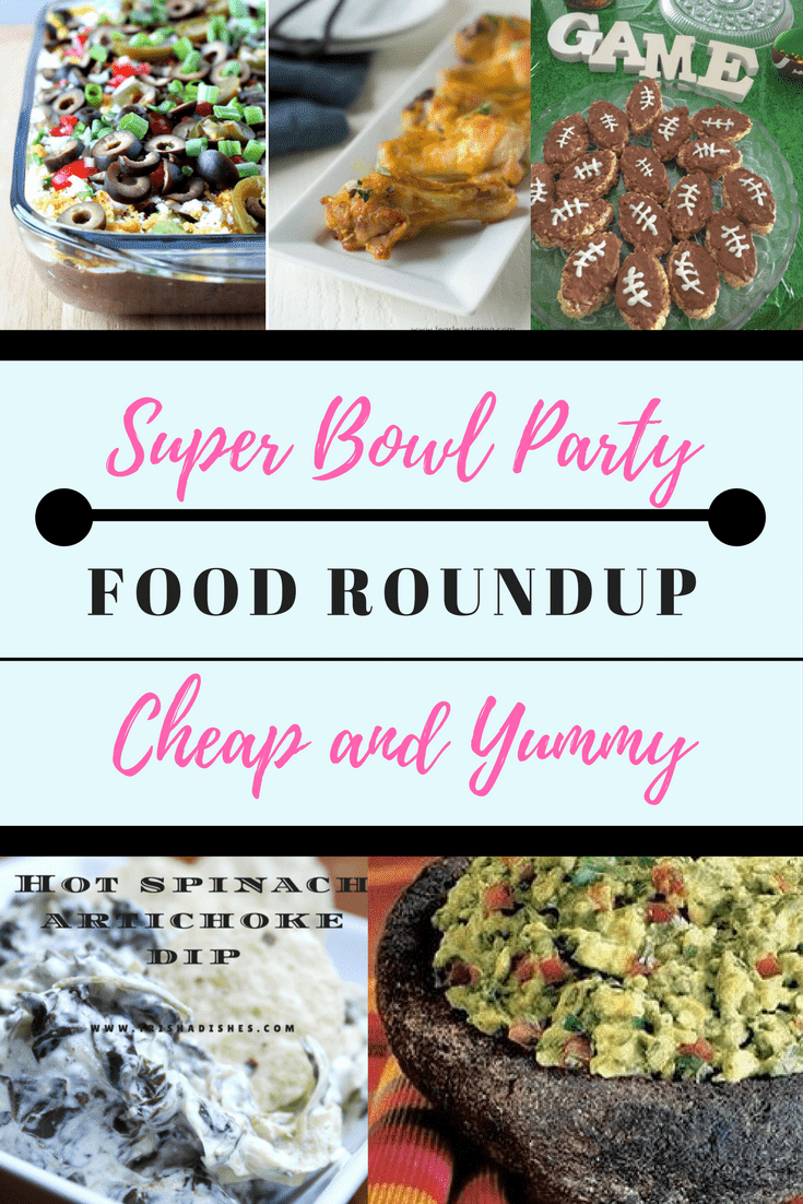 Super Bowl Party Appetizers