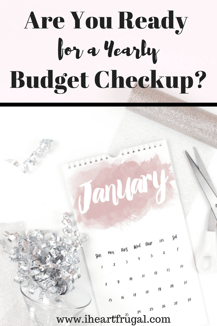 January is time for a budget checkup