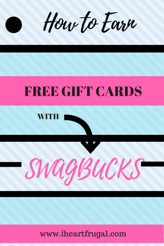 How to Earn Free Gift Cards with Swagbucks