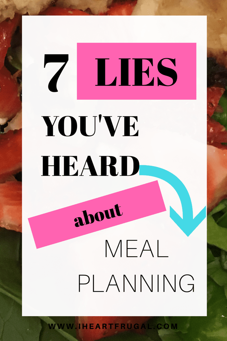 7 Lies You've Heard About Meal Planning