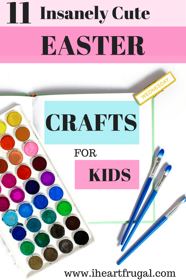 Easter Crafts - paint - paint brushes