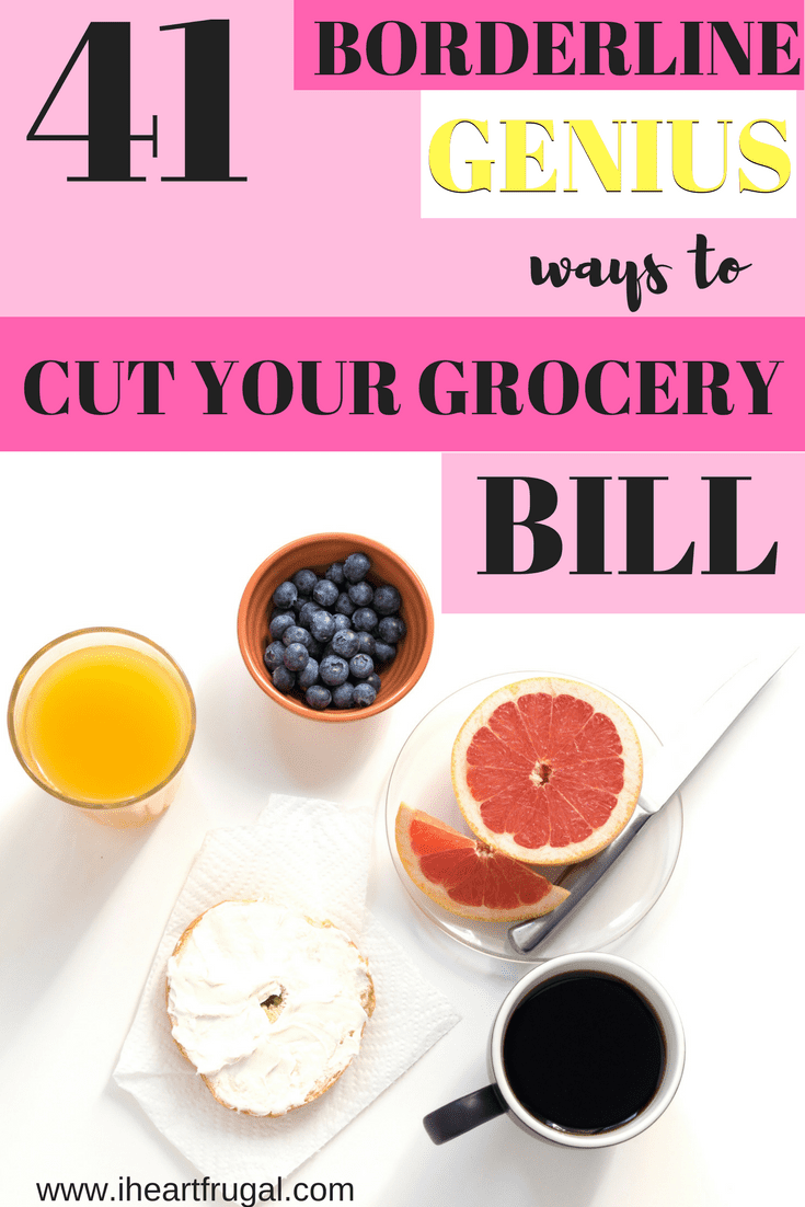 41 Clever Ways to Cut Your Food Bill
