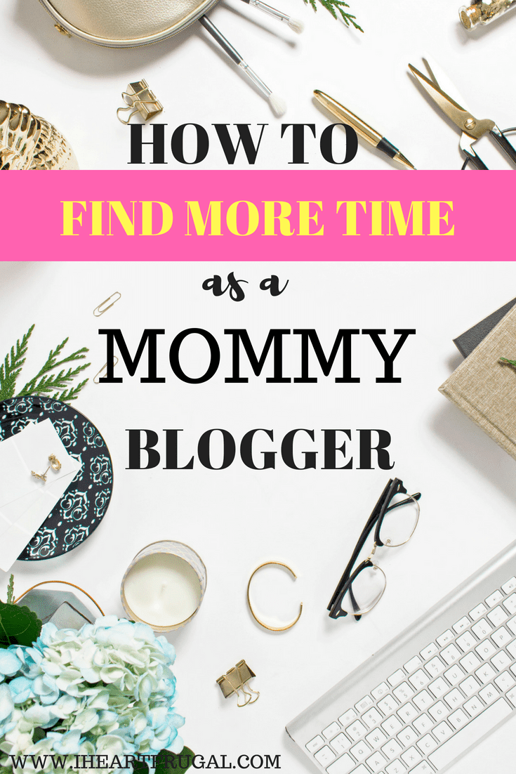 How to find time to blog as a mommy