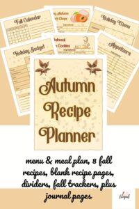Autumn Recipe Pack