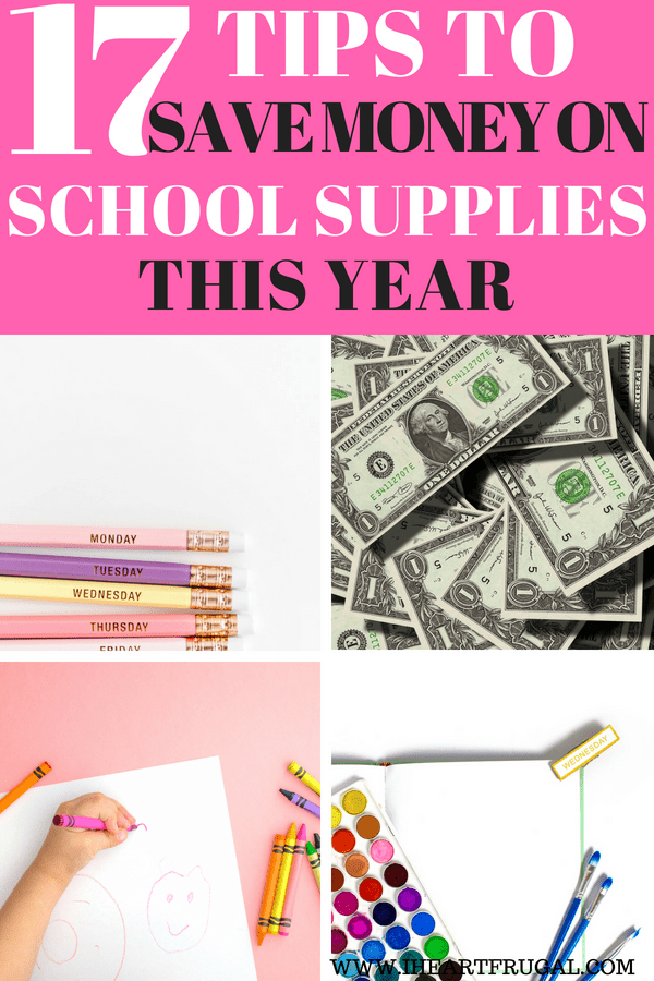 17 Tips on How to Find Cheap School Supplies in 2018