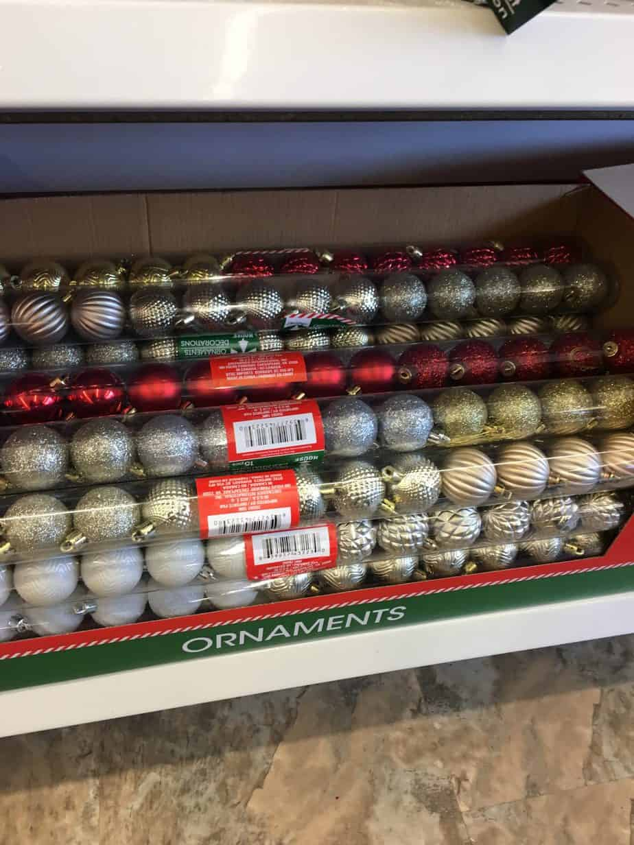 Dollar Store Christmas Decorating Ideas- More Tree Ornaments