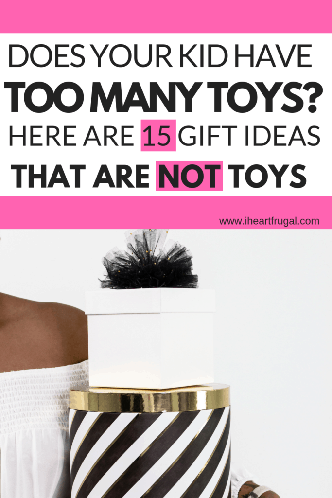 Gift Ideas for Kids That Have too Many Toys #christmas #christmasgifts #gifts #giftguide