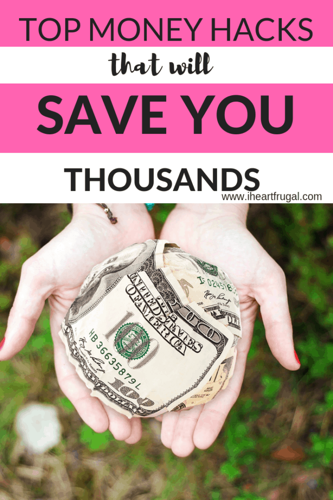 Top Money Hacks That Will Save You Thousands #budgeting #personalfinance #moneyideas