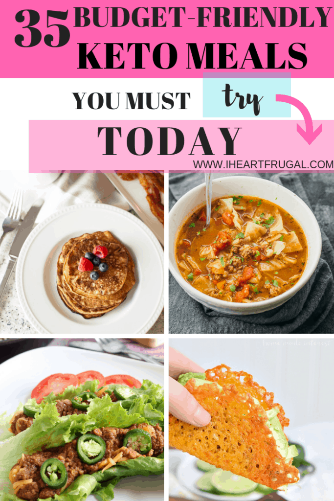 Keto on a budget #keto #mealplan #savemoney
