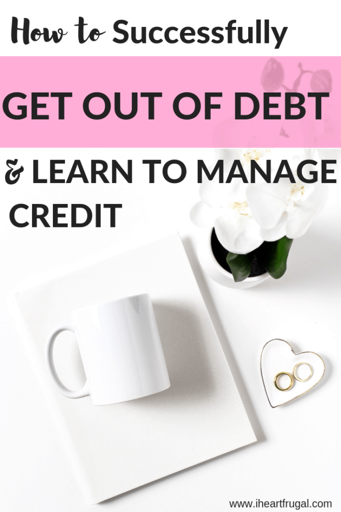 How to Get Rid of Debt and Manage Your Credit Score #credit #debtfree #debt #moneytips #savemoney