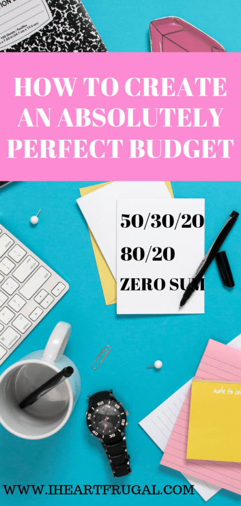 Create an easy budget and use financial planning to help you save money. Use the 50/30/20 budget, the 80/20 budget, or the cash envelope system to help you with your diy budget. You will be budgeting and saving money like a pro! #savemoney #moneytips #personalfinance