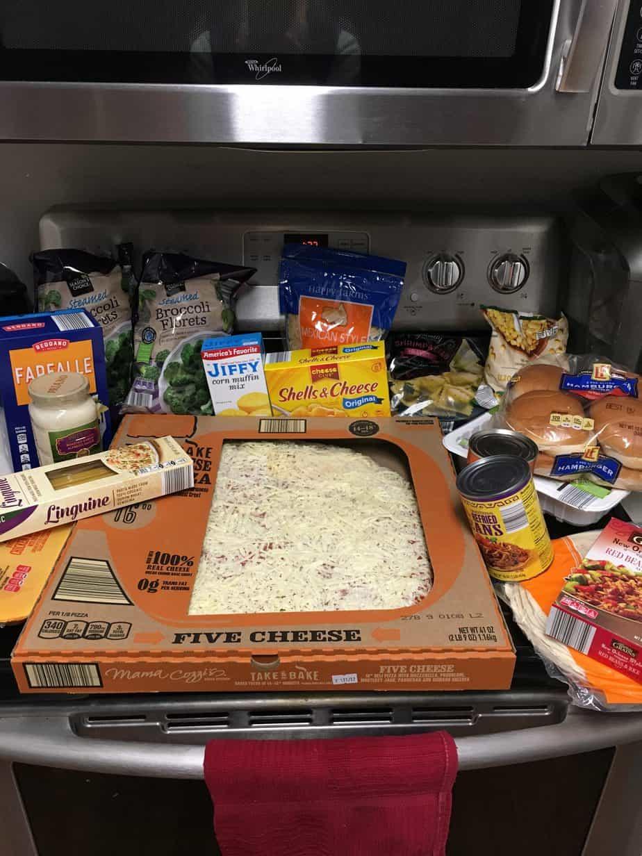 Cheap Aldi Meal Plan Haul