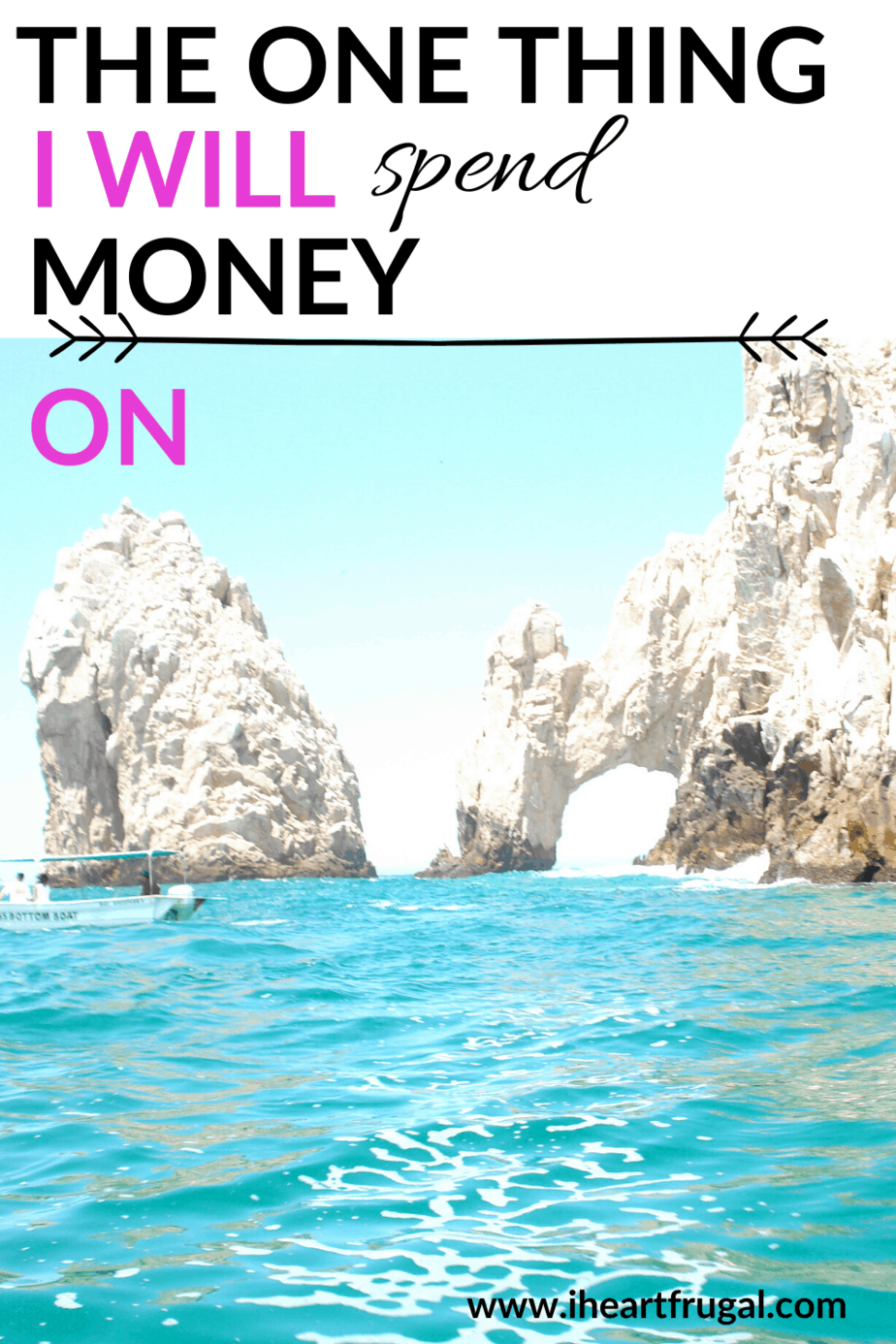 The One Thing I Will Spend Money On - Do you spend too much money? Spending money can be a good thing if you know what to spend money on. Find out what this frugal living blogger spends money on. #savemoney #budget #personalfinance