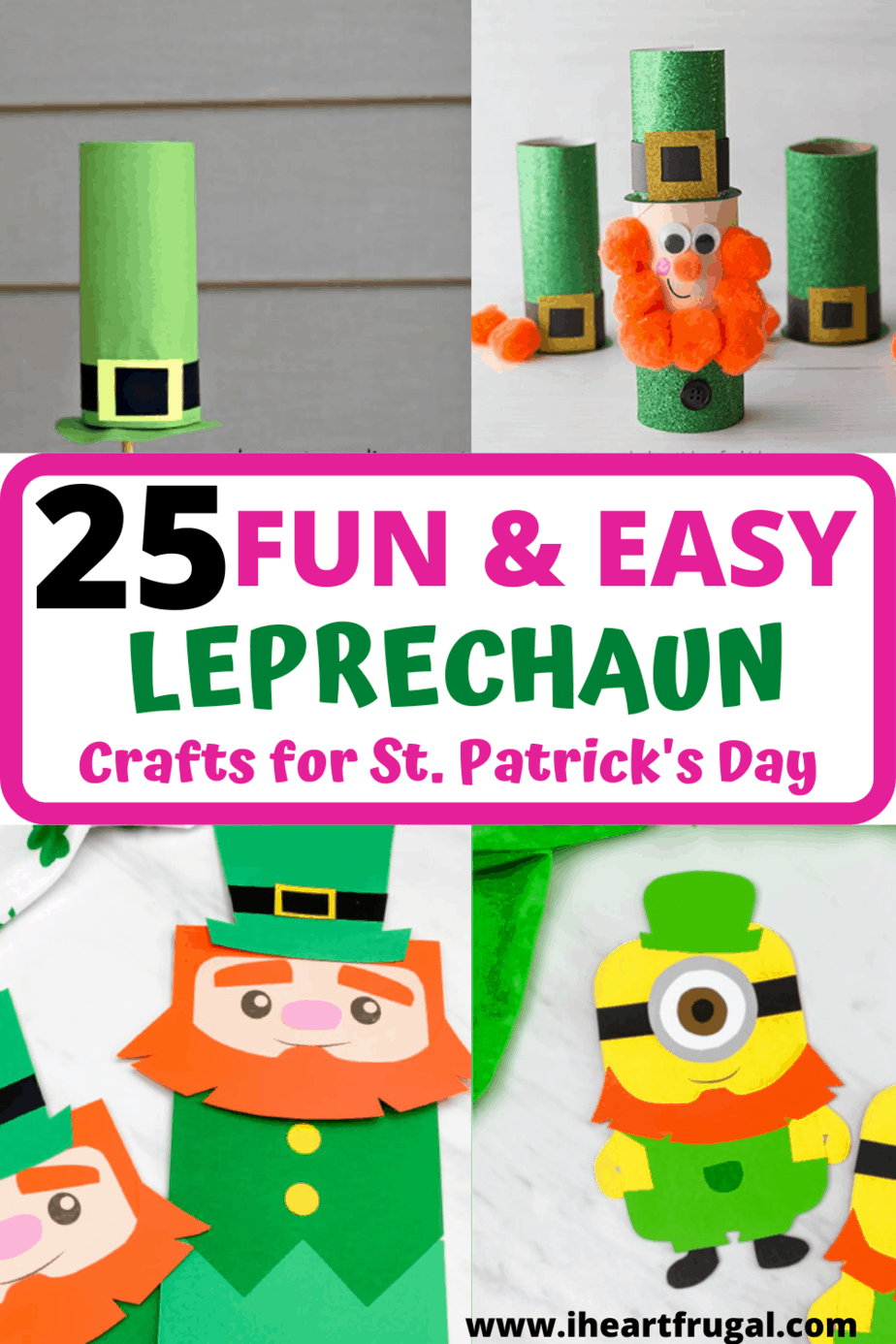 Are you looking for St. Patrick's Day crafts for kids? These St. Patrick's Day ideas will help your little one have fun this year. St. Patrick's Day crafts for preschool or elementary kids will brighten up your fun day! #stpatricksday #kidscrafts #preschoolcrafts