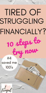 Are you tired of struggling financially? Learn money hacks to help you get out of debt and get ahead. Change your money mindset and learn how to budget better, build wealth, and save for an emergency. #savemoney #budget #moneytips