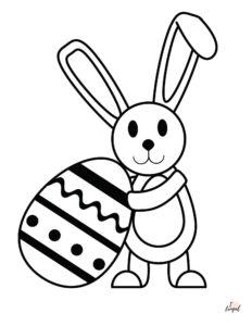 Bunny Coloring Sheet/Page