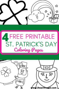 Free Coloring Pages for St. Patrick's Day