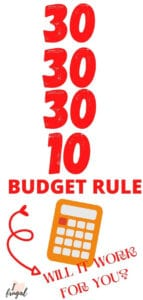 30-30-30-10 budget rule: Will it work for you? orange calculator