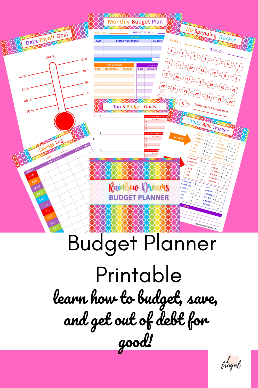 Budget Planner Printable