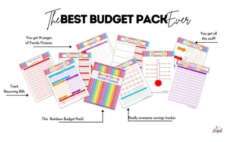 Family Finance Budget Pack