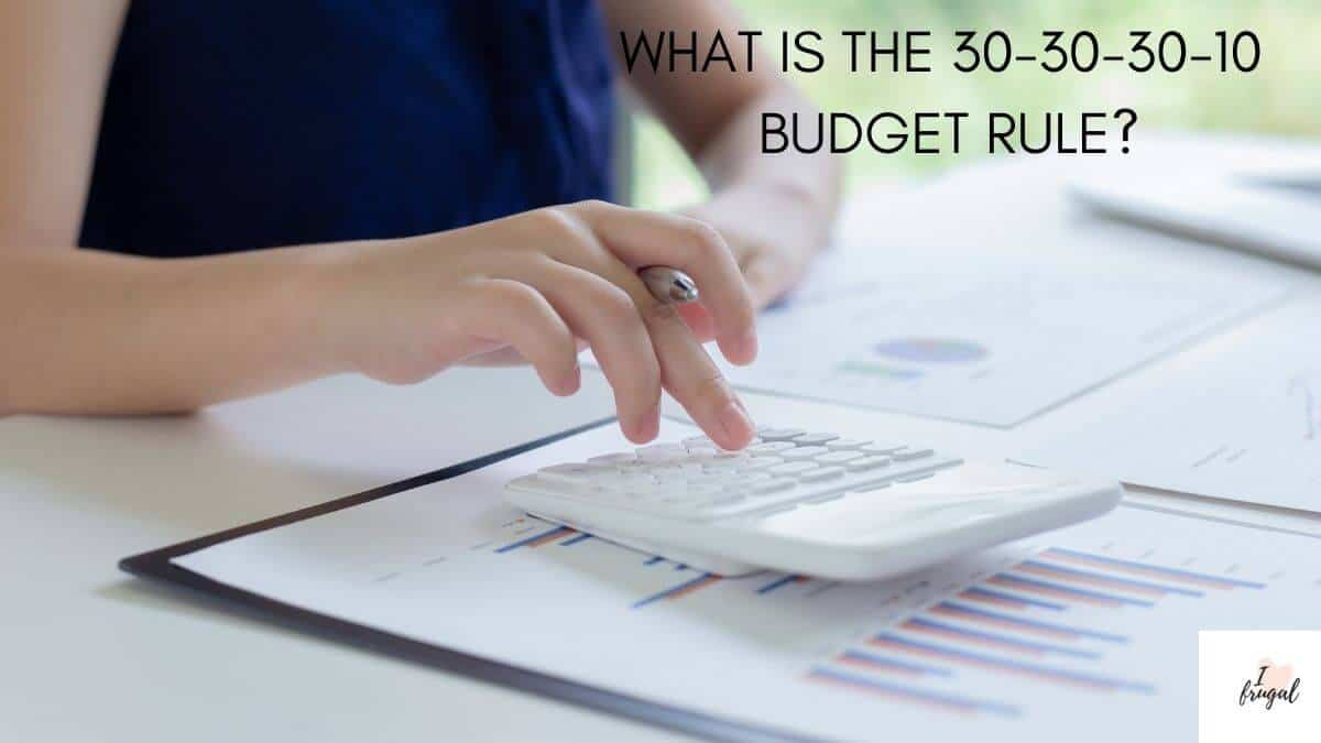 What is the 30-30-30-10 Budget Rule?